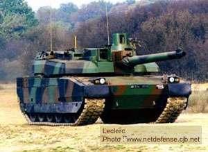 Attention, les facettes du char Leclerc (France) sont plutôt dues à la présence de ses caisses de blindage qu'à sa furtivité radar.