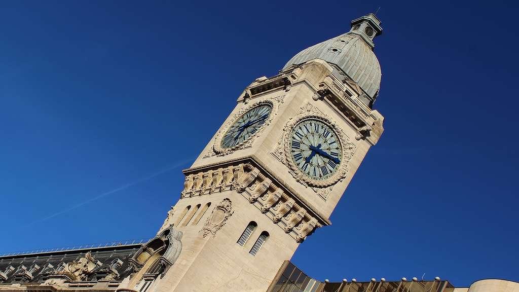 L'horloge de la gare de Lyon