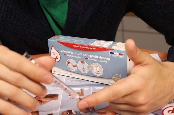 Un kit d'autodépistage du VIH est disponible depuis 2015. © AAZ