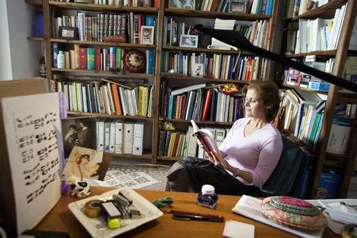 Pr. Habiba Bouhamed Chaabouni, Tunisie, L'ORÉAL -UNESCO Award For Women in Science, 2006 Laureate pour l' Afrique. Pour sa contribution à l'analyse et la prévention des troubles héréditaires. © Micheline Pelletier / GAMMA