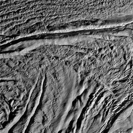 Septième image. Crédit Nasa/JPL.