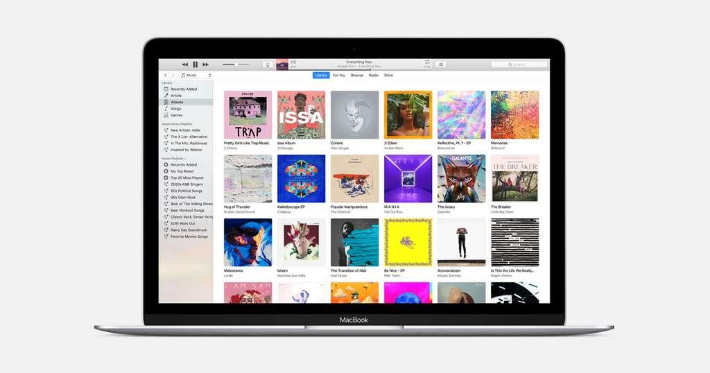 Devenu une véritable usine à gaz, capable de diffuser et de ranger vos musiques et vos films, mais aussi de sauvegarder le contenu d'un iPhone ou d'un iPad, iTunes va disparaître sur Mac. © Apple