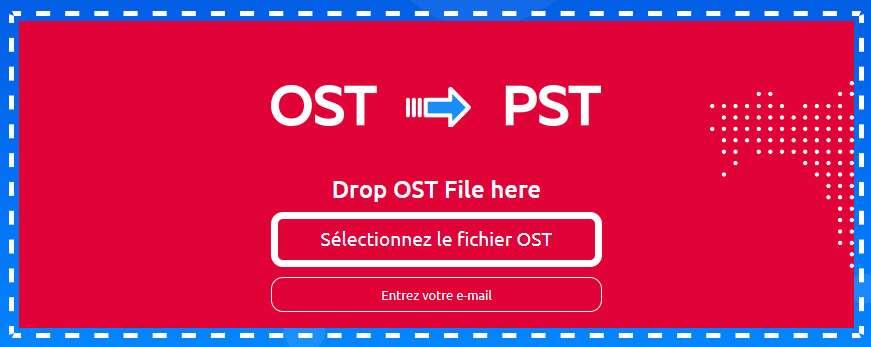 L'éditeur propose un outil en ligne. © OSTtoPST.online