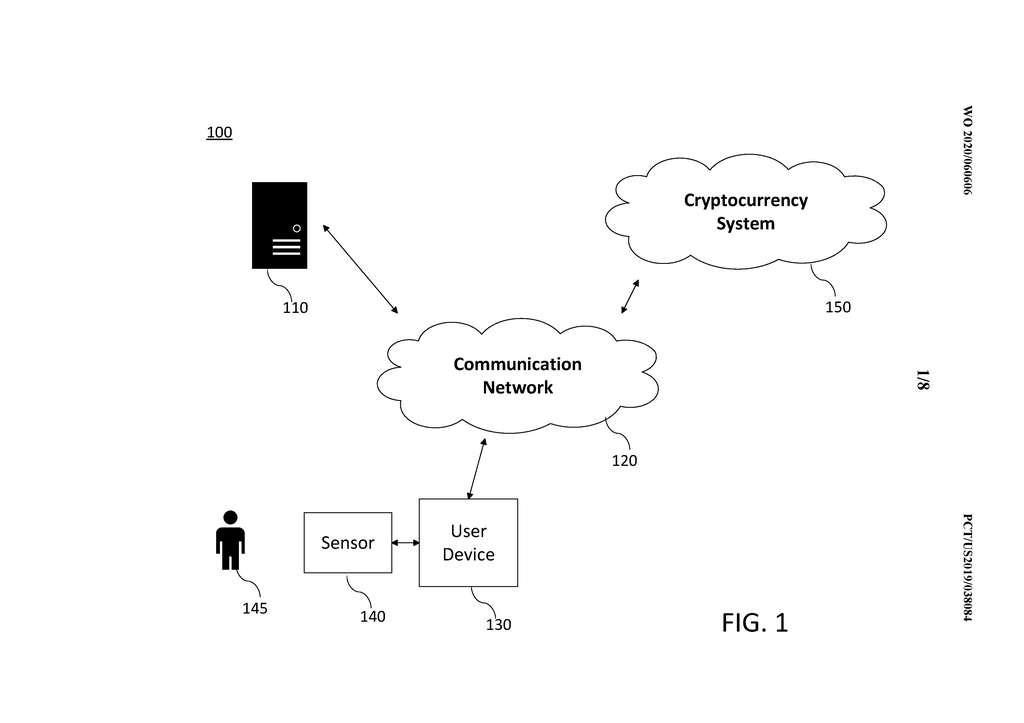 Le capteur enregistre les données corporelles qui sont ensuite envoyées en ligne pour être utiles au minage. © Microsoft