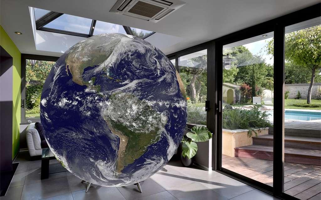 L'effet de serre est un phénomène naturel associé au réchauffement climatique. © DR