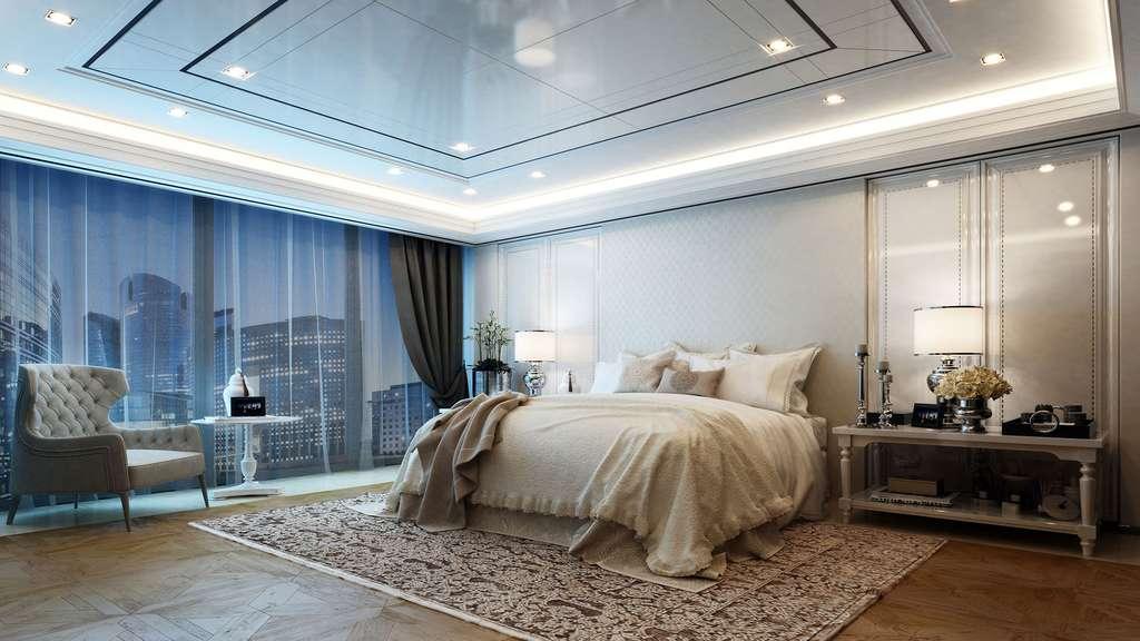 Une chambre avec vue sur la ville