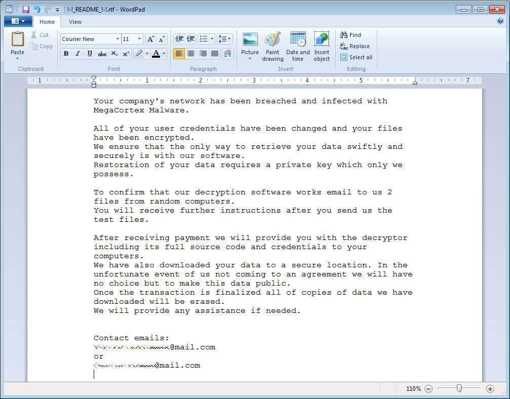 Une fois que l'utilisateur paie, il reçoit par email l'outil pour décrypter les fichiers. © BleepingComputer