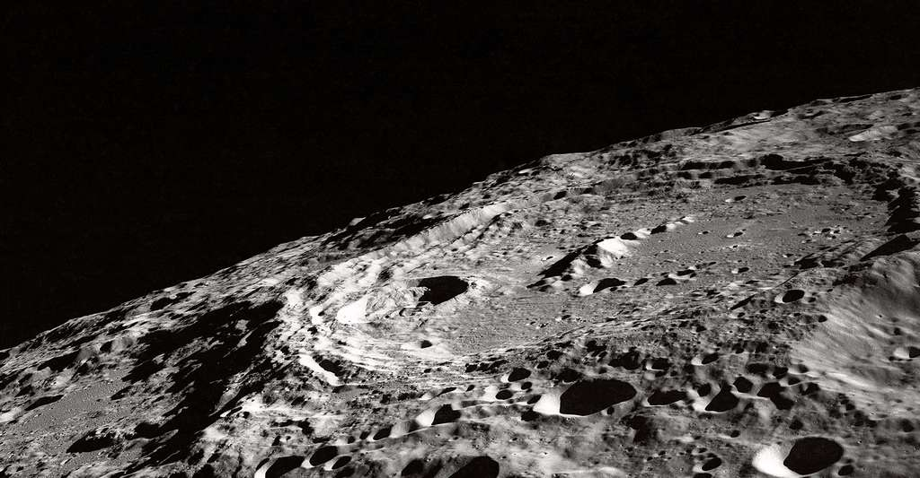 Vue de la Lune. © Nasa, Apollo, DP