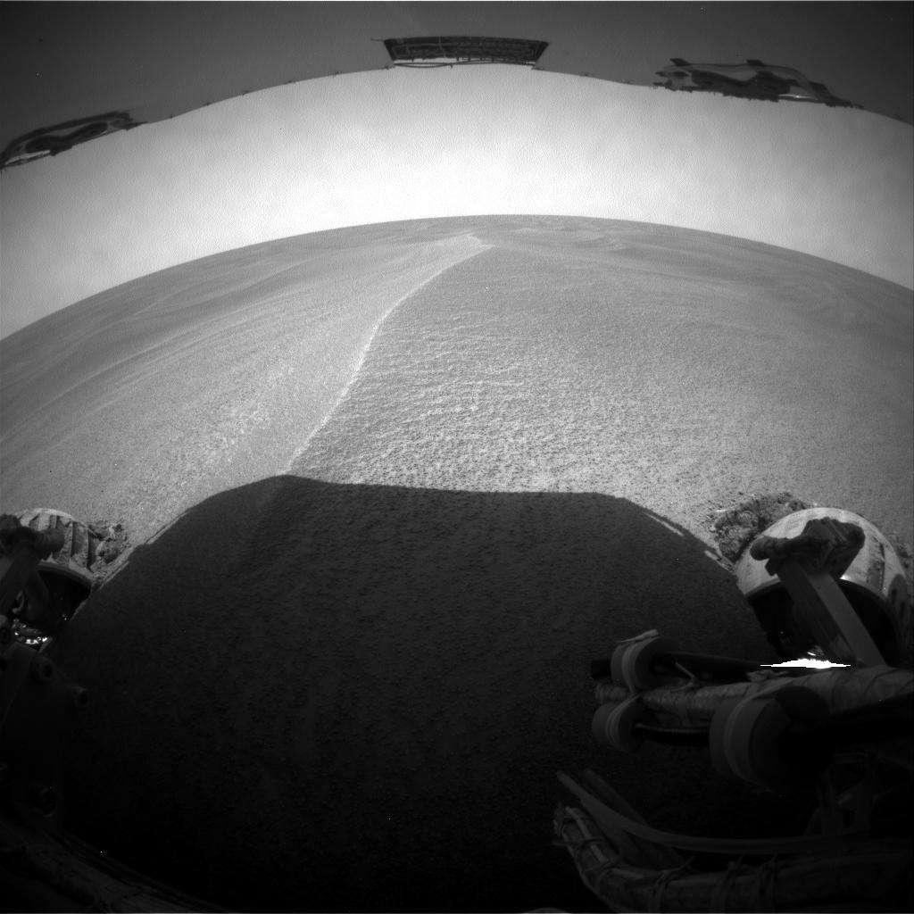 Opportunity enlisé dans les sables sur Mars