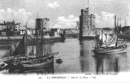 Rochelle, carte postale ancienne