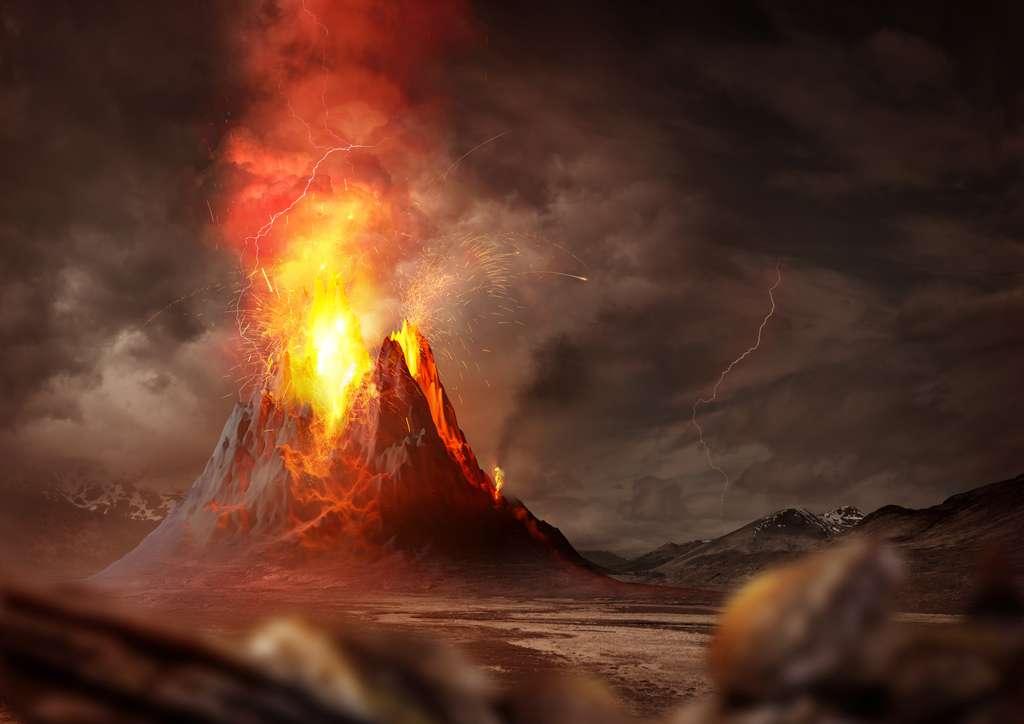 Un volcanisme géant serait bien la cause de l'extinction de masse du Permien. © James Thew, Fotolia
