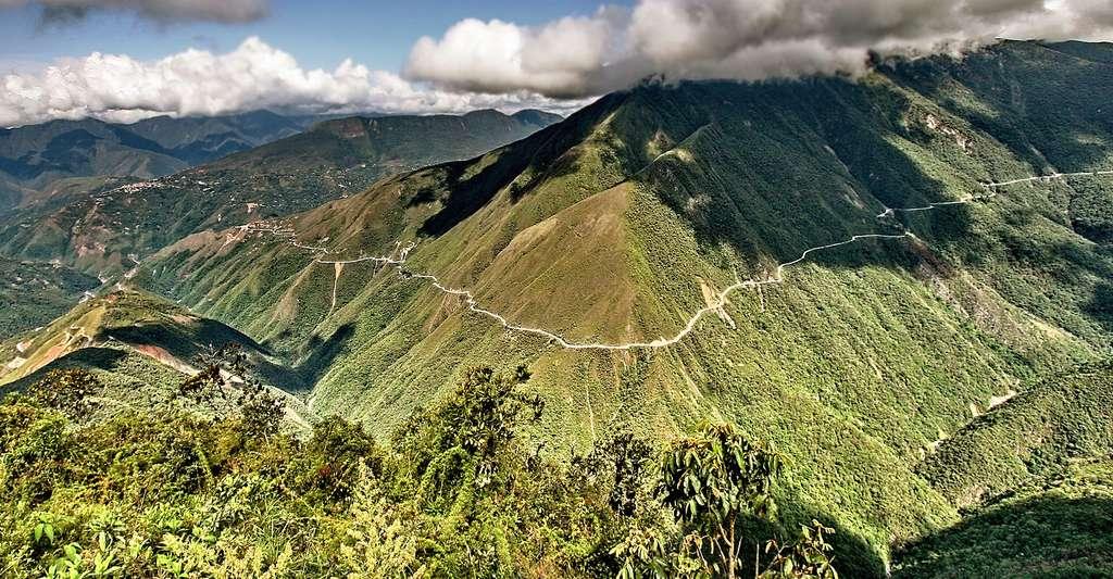 Route « Ruta de los bicis ».© Michael Fernando Jauregui Schiffelmann, Wikimedia commons, CC by 2.0