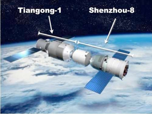 Si le prochain amarrage avec Tiangong-1 rencontrait des difficultés de pressurisation, la Chine serait confrontée à un problème de construction voire de conception, difficile à surmonter pour un module en orbite. © CNSA/Enjoy Space