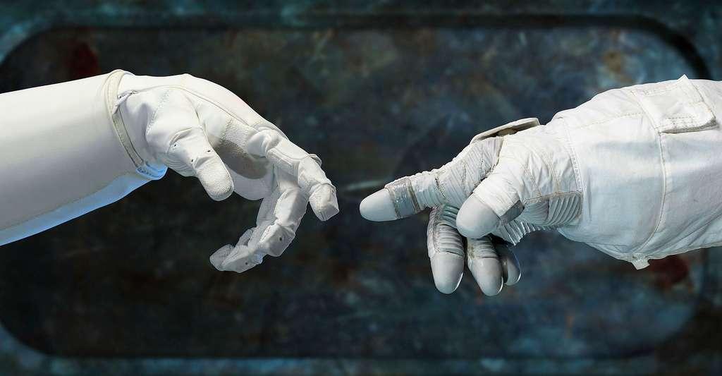 La création des robots. © Skeeze CC0, domaine public