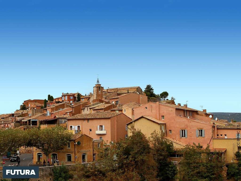 Le village de Roussillon - Vaucluse