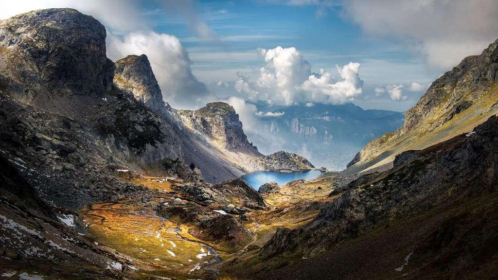 Le lac du Crozet et son histoire dans le massif de Belledonne