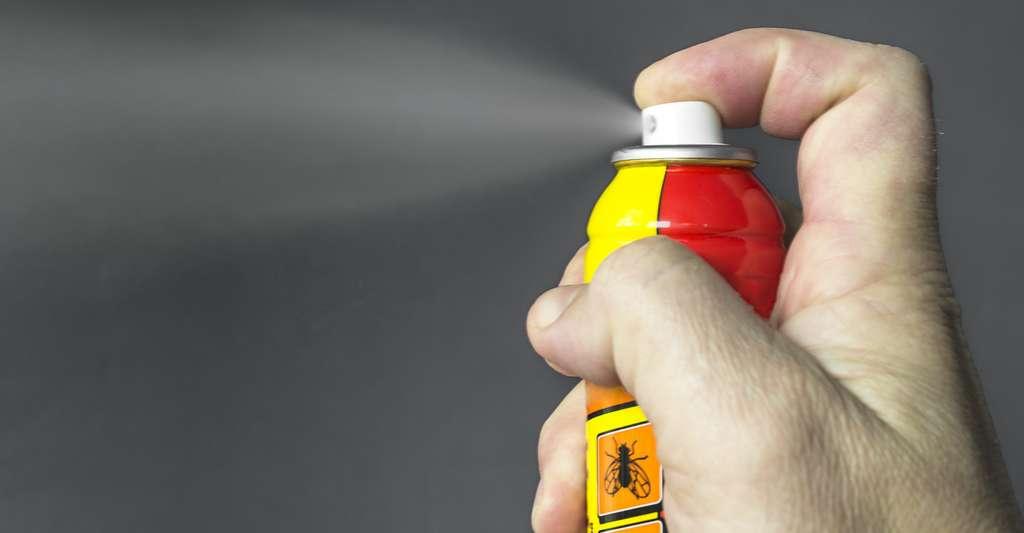 40 % des ménages français ont recours à des biocides contre les insectes volants. © Yevhenil, Fotolia