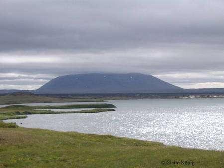 Vue sur le lac de Myvatn. © Claire König