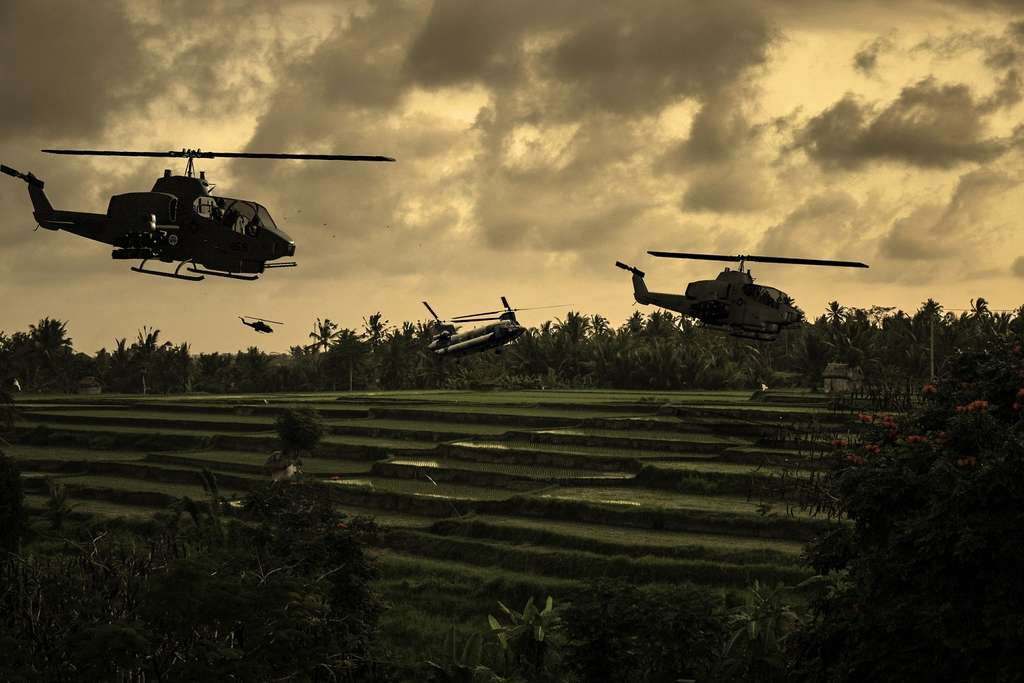 La guerre du Vietnam a fait plus d'un million de morts, victimes civiles et militaires, dont beaucoup n'ont pas été identifiées. © Keith Tarrier, Shutterstock