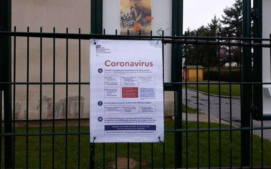 Une école fermée après la détection de cas de Covid-19. © LP, A.C