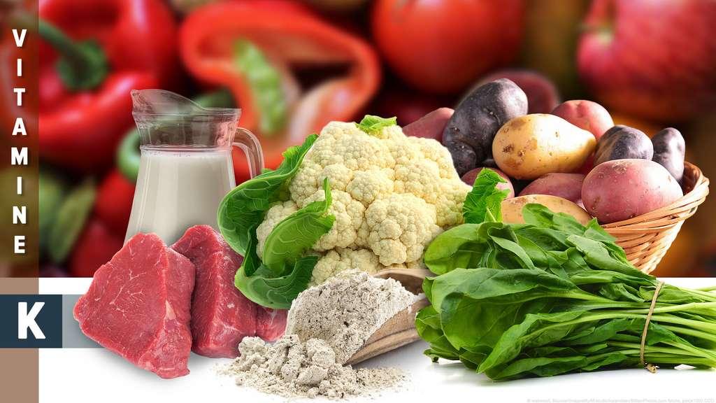 La vitamine K intervient dans la coagulation sanguine