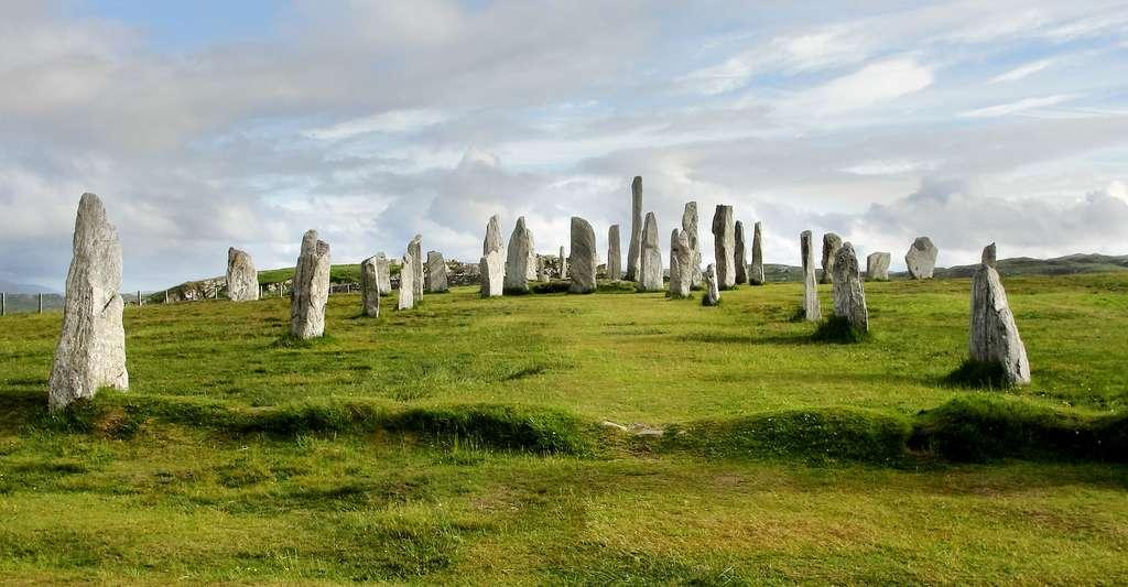 Les pierres dressées de Callanish, à Lewis, dans les îles Hébrides, en Écosse. © Nessy-Pic, Wikimedia Commons, CC by-sa 3.0