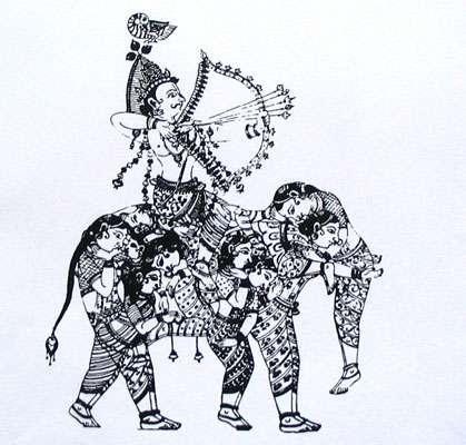 Kama, le « Cupidon » indien envoie des flèches de fleurs inspirant l'amour