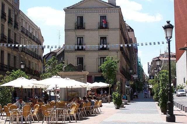 Calle de Huertas, à Madrid. © San Roman, Jorge E., CC by 2.5