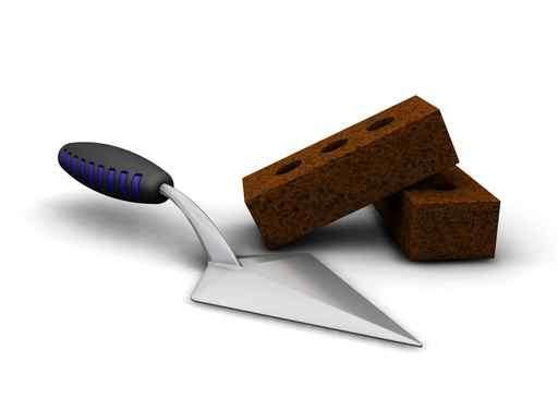 Pour gâcher le mortier, deux techniques sont possibles. © ets-dasilva.fr