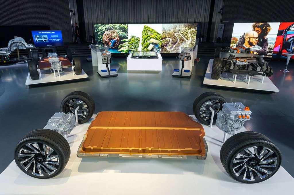 La nouvelle batterie Ultium de GM offrira une capacité allant de 50 à 200 kWh. © General Motors