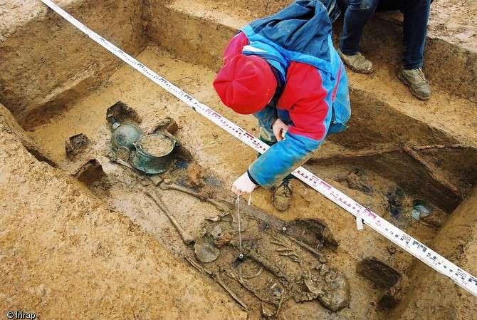 Des tombes franques à Saint-Dizier