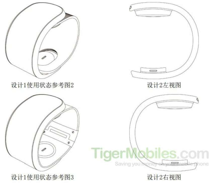 Lenovo multiplie les solutions pour permettre d'accrocher le smartphone autour de son poignet. © TigerMobiles.com