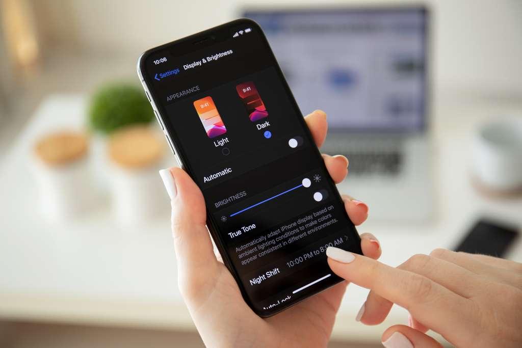 iOS est le nom du système d'exploitation mobile d'Apple, il offre une navigation simple et rapide. © Denys Prykhodov, Adobe Stock