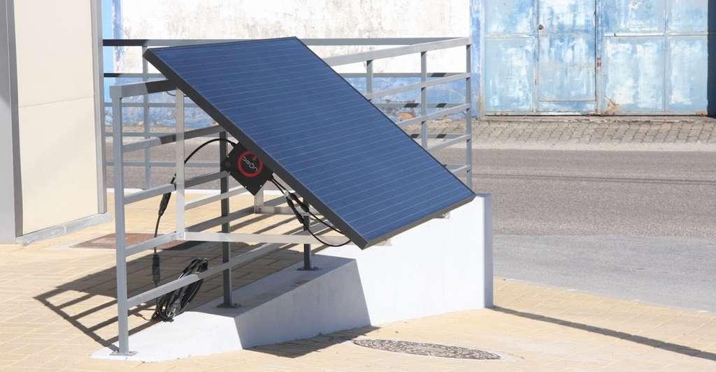 Le kit solaire de BeON Energy. © BeOn Energy