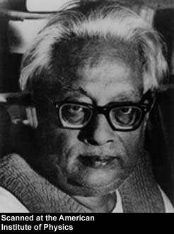 Satyeandra Nath Bose (1894-1974).