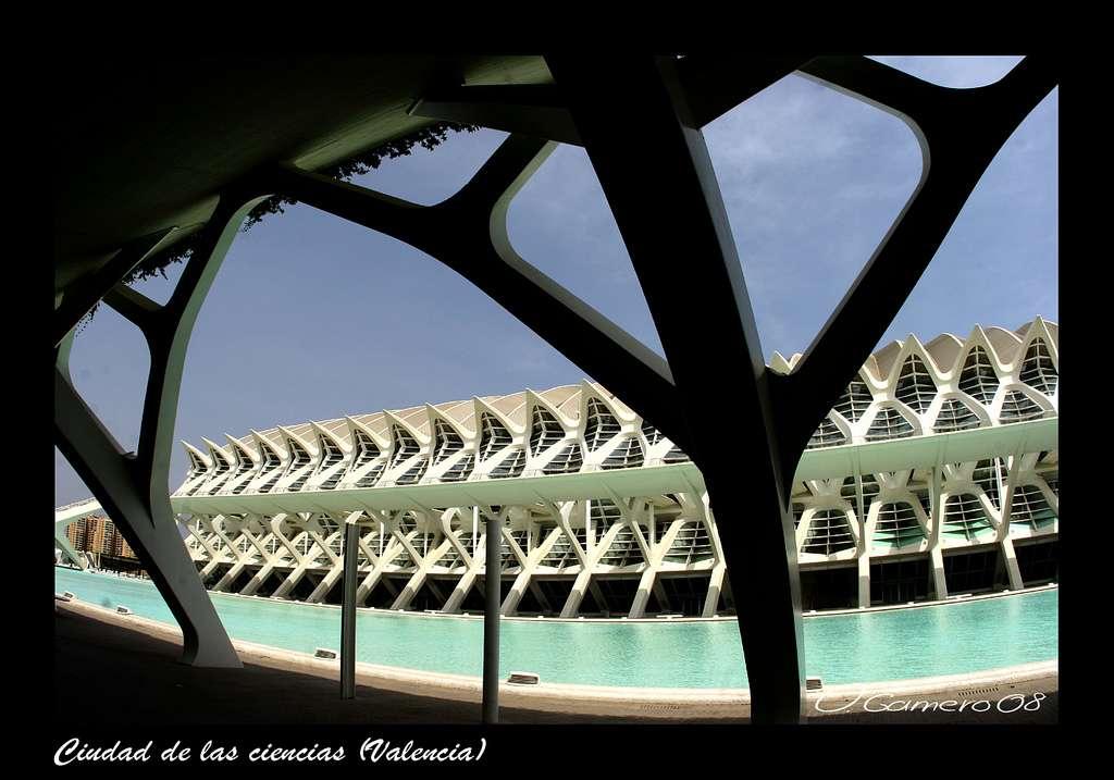 Le musée des sciences Príncipe Felipe, à Valence