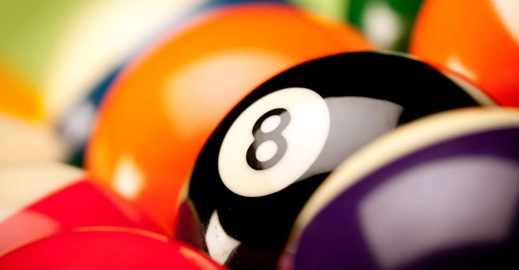 La question des billards de Platon intrigue les mathématiciens. Ici, des boules de billard. © FikMik, Shutterstock