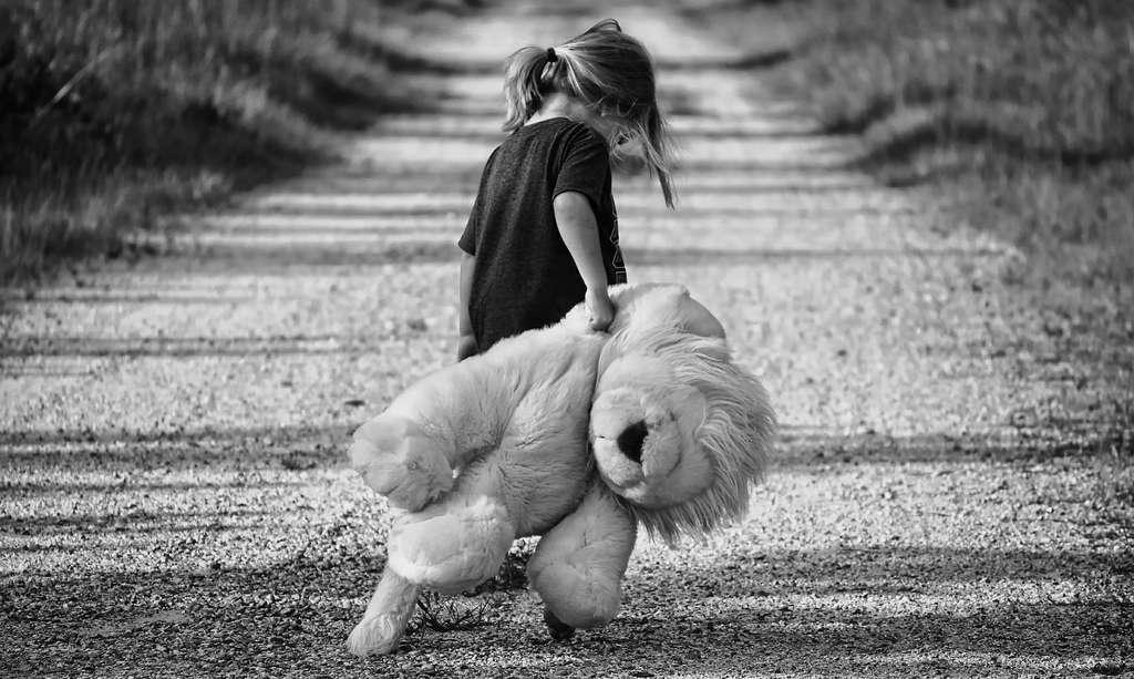 Selon l'étude des chercheurs de l'université de Brown, le cerveau des petites filles soumises à un stress pendant les premières années de leur vie se développerait différemment de celui des autres, les prédisposant à la dépression. © Greyerbaby, Pixabay, CC0 Creative Commons