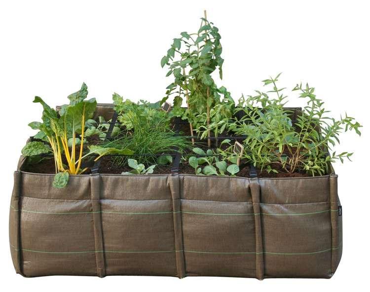 Les jardins souples hors-sol, une tendance jardinage qui va certainement se développer. © DR