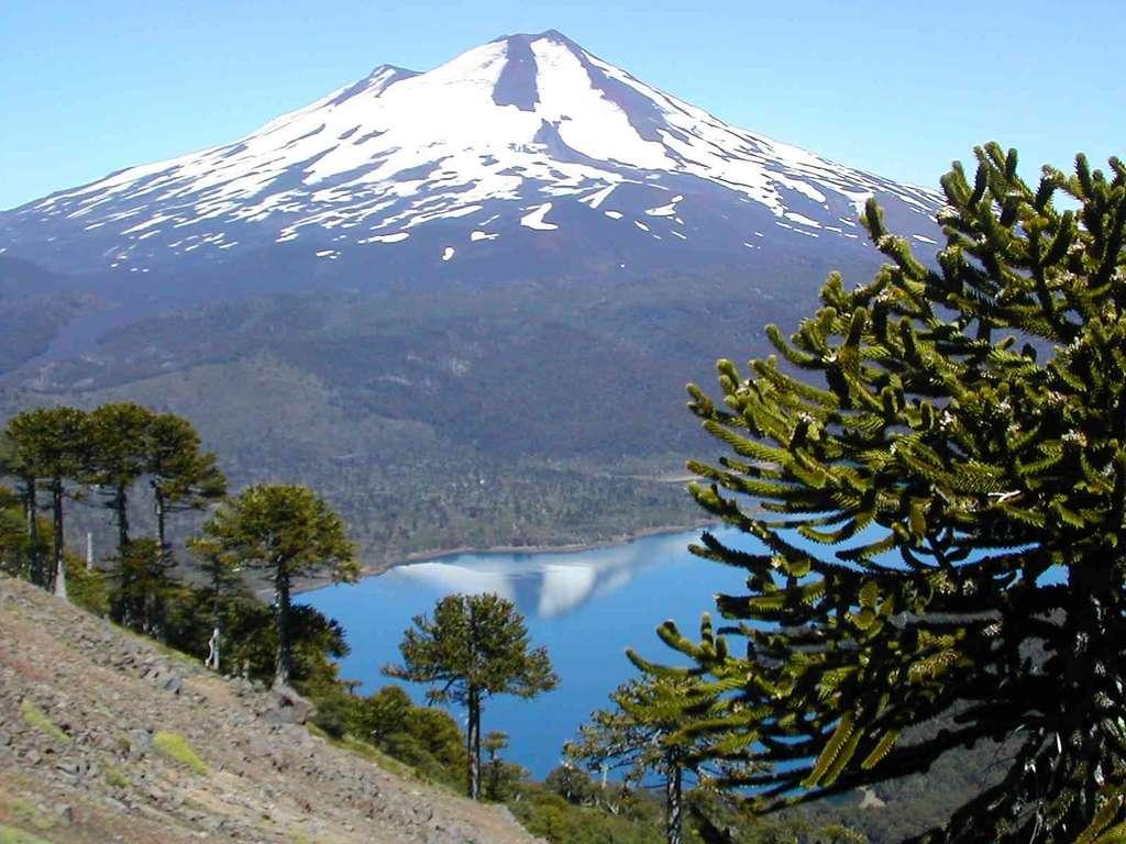 Chili : Volcan Llaime
