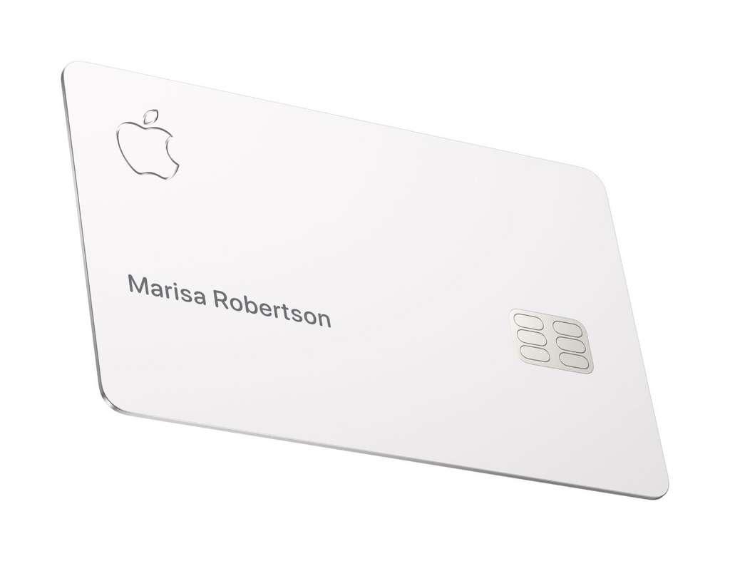 L'Apple Card est fragile. Apple précise qu'elle ne doit pas, entre autres, être en contact avec d'autres cartes bancaires. © Apple