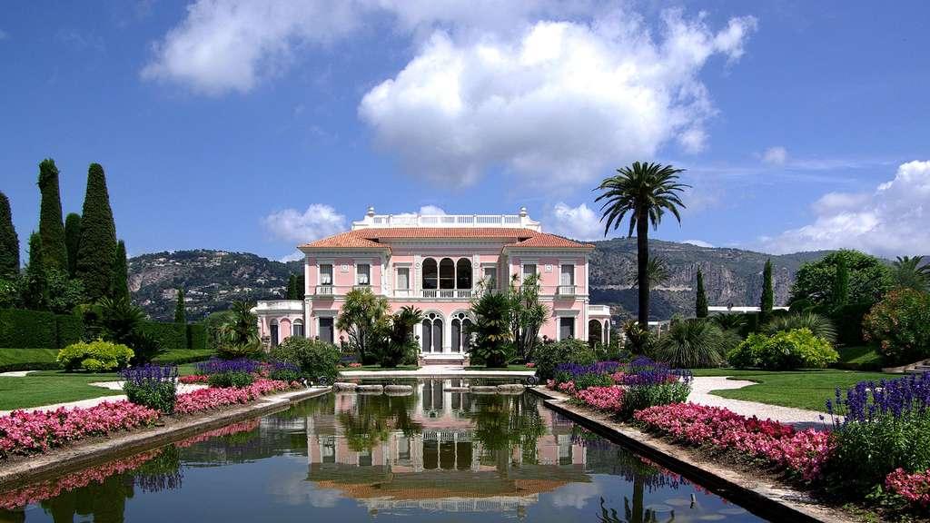 Les merveilleux jardins de la Villa Ephrussi de Rothschild