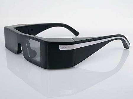 Les lunettes à vision virtuelle de Lumus. Crédit Lumus