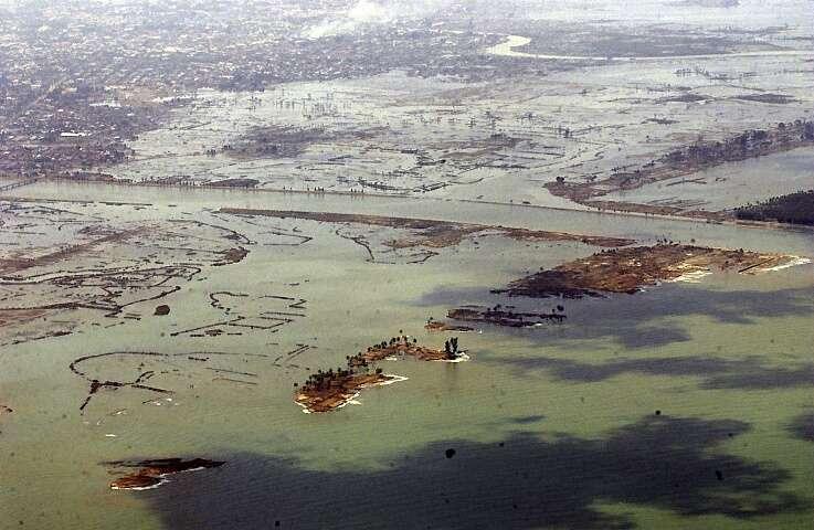 Banda Aceh sous les eaux