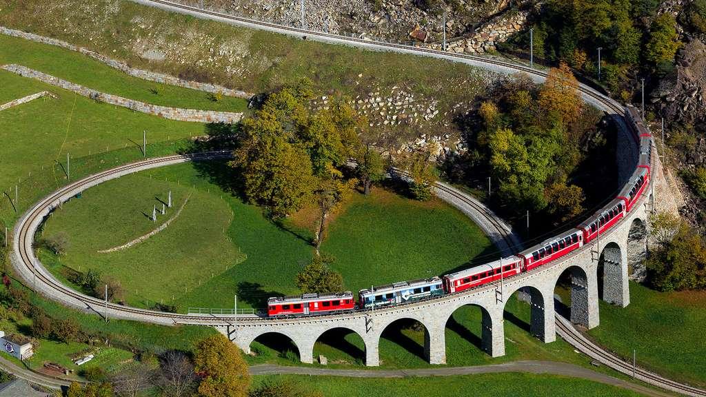Le viaduc hélicoïdal de Brusio, une prouesse technique et architecturale