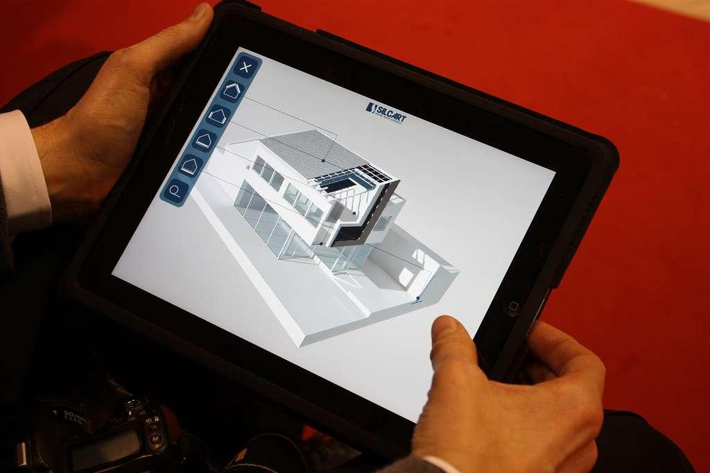 À partir d'un iPad, il est autant possible de piloter des télévisions ou chaines Hifi que la régulation de la température et de la luminosité, en quelques clics. © Tekneco CC