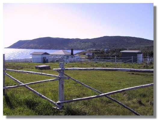 La magnifique île de Langlade située entre St Pierre et Miquelon est un lieu de vacances pour de nombreux habitants de l'archipel ; on y chasse notamment le Cerf de Virginie. © C. Marciniak