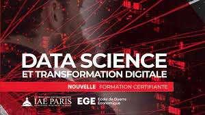 « Data science et transformation digitale », une nouvelle formation certifiante de l'EGE et l'IAE Paris-Sorbonne. © EGE