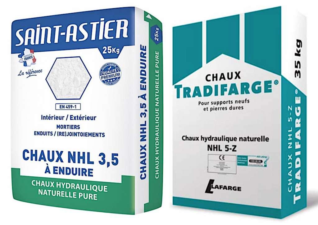 Plus la chaux NHL est résistante (à l'abrasion, à la pression…), moins elle est plastique et plus elle a tendance à faïencer. © DR