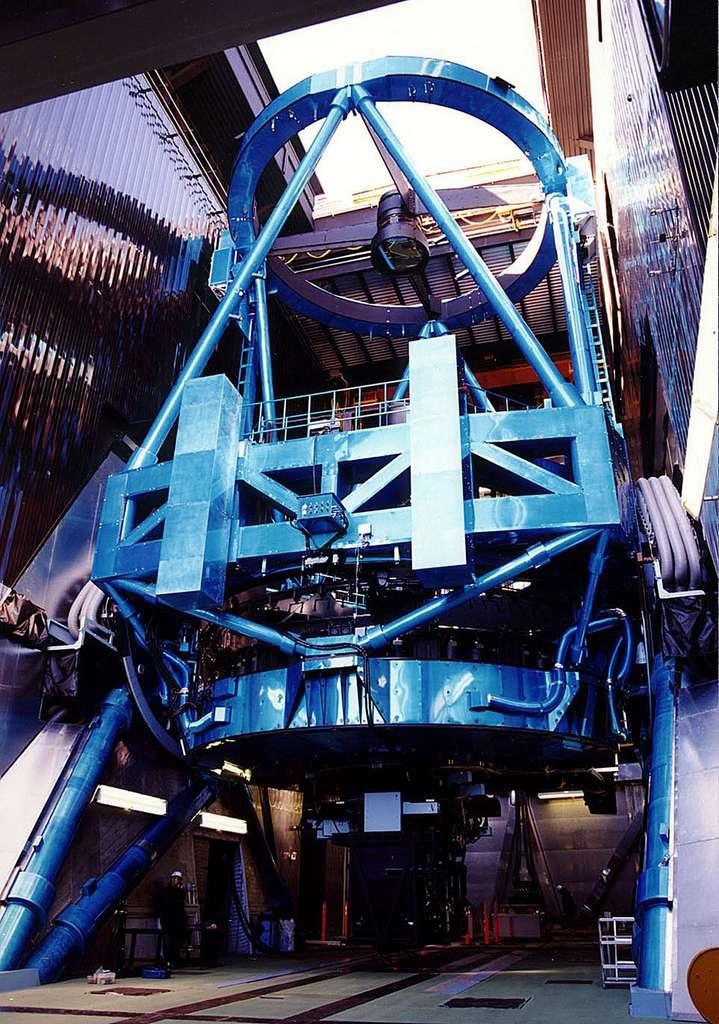 Le télescope japonais Subaru installé à Hawaï a retrouvé tout son potentiel après un sérieux incident en juillet 2011. © Subaru Telescope
